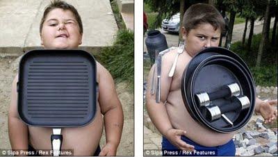 可爱小胖男孩图片