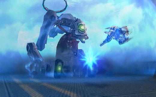 (充满科技机械感的外型,搭配快节奏战斗,保证让玩家化身星际大战的