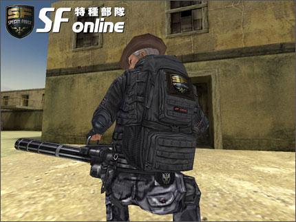 「战术背包」游戏面与