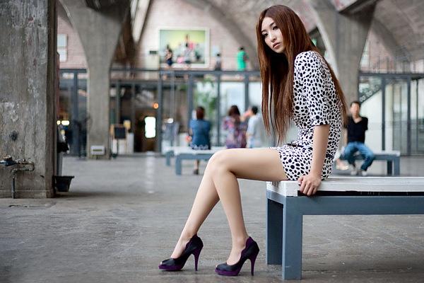 健身模特李妍